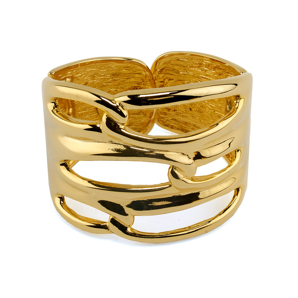 Golden Looped Cuff