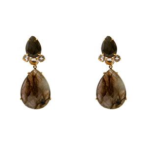 Earrings Labradorite XXX