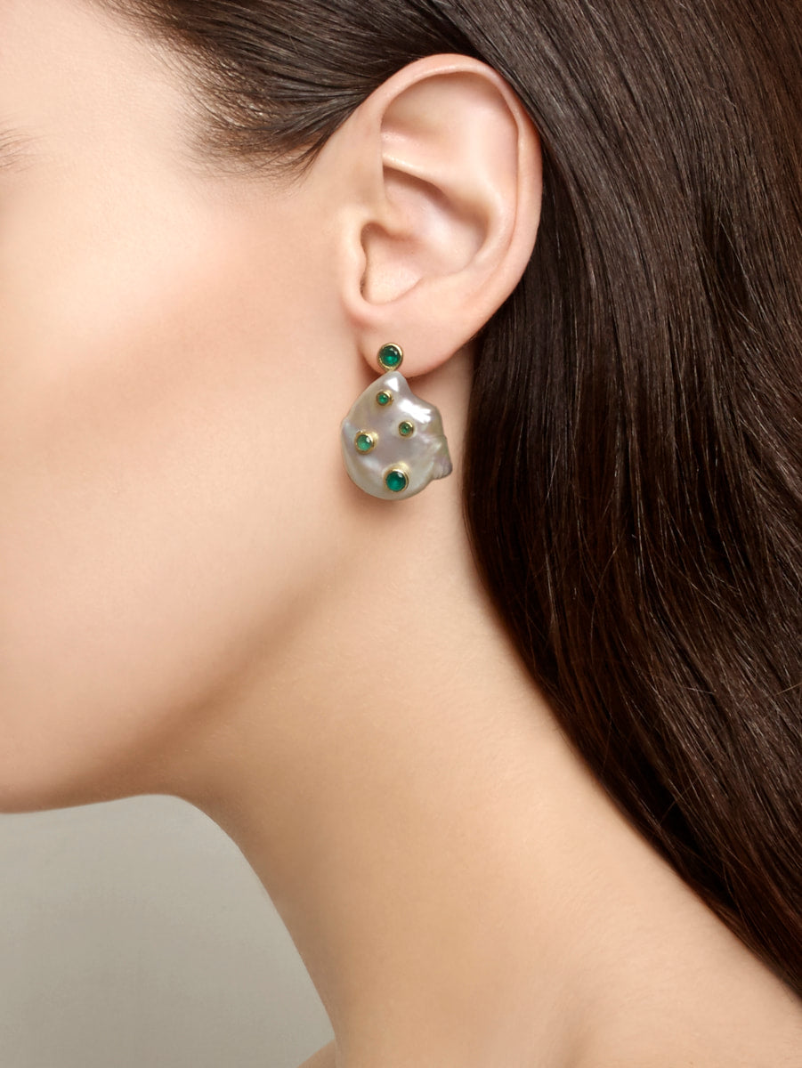 Earrings Baroque and Beautiful