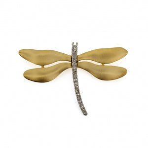 Brooch DRAGONFLY