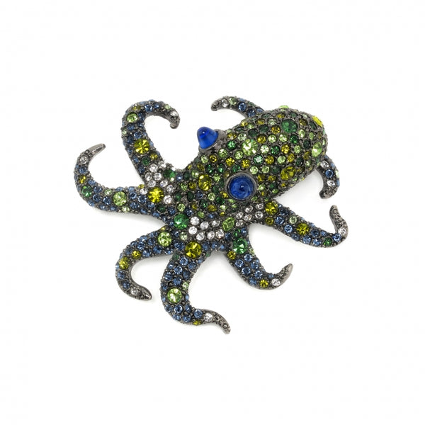 Brooch Olive the Octopus