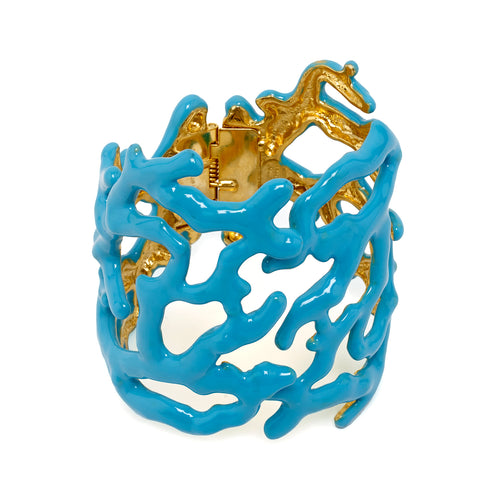 Cuff Coral Reef in Turquoise