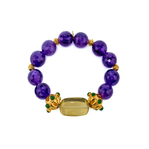 Semi-Precious Stretch Bracelet