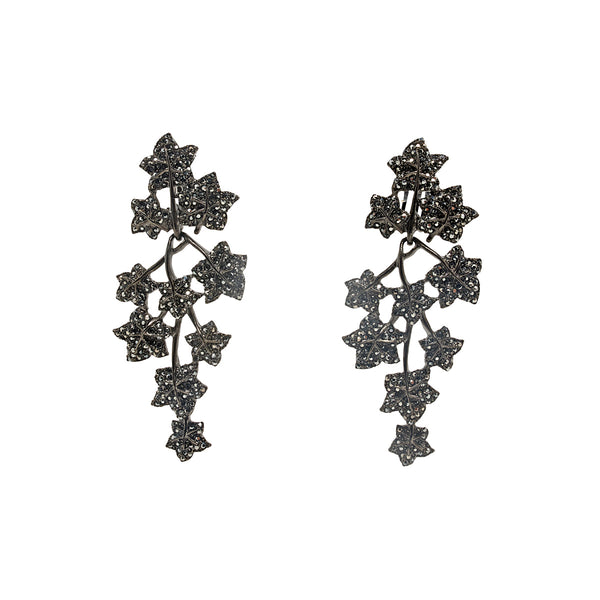 Earrings Dark Ivy