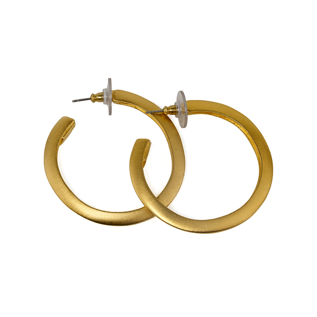Earrings Golden Hoops