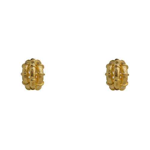 Earrings Gold Rope