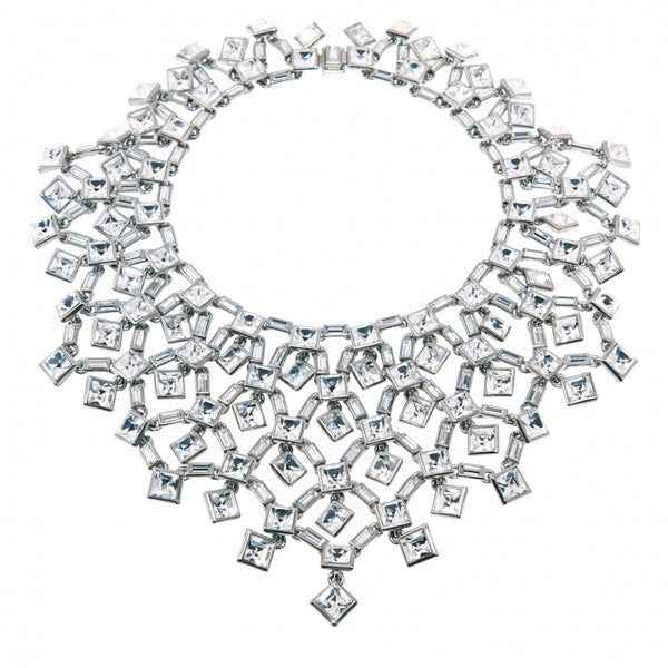 Simon Harrison Claudette crystal necklace XXX
