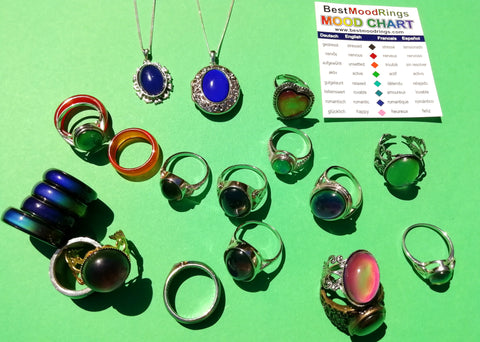 mood ring color meanings in the sun happy mood