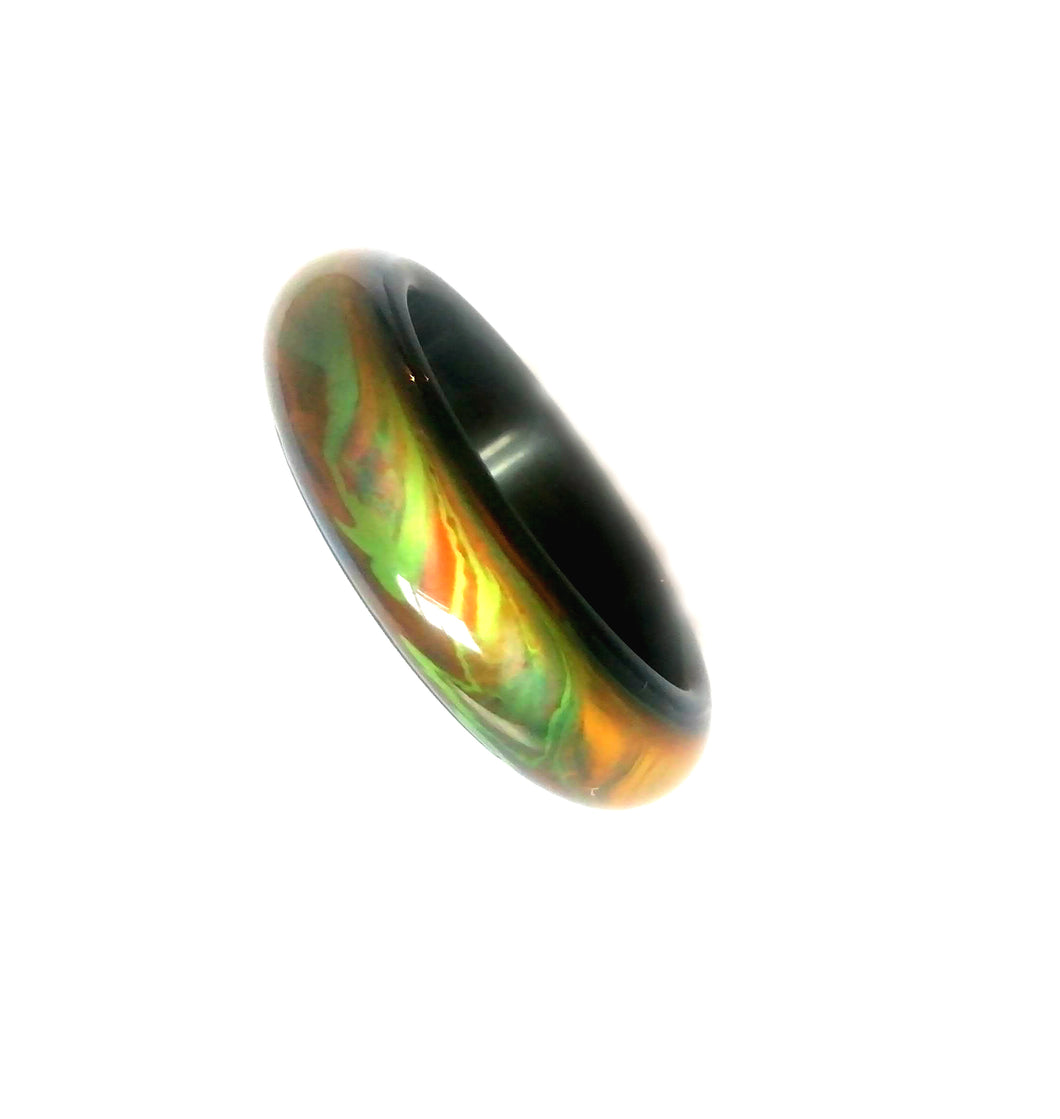 Agate Mood Ring Thicker Design Size 7