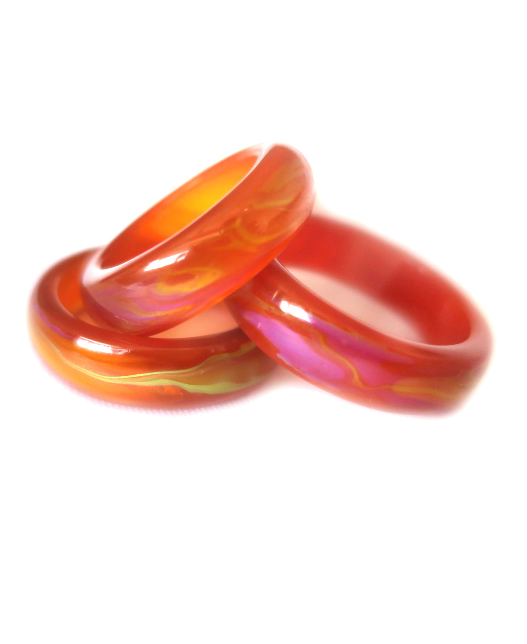 Agate Mood Ring