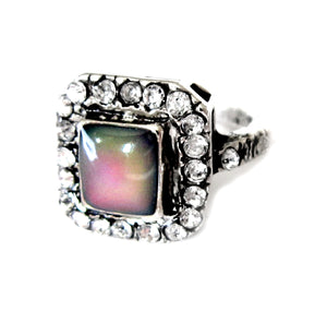 antique art deco style mood ring