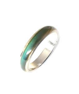 a fine band mood ring by best mood rings