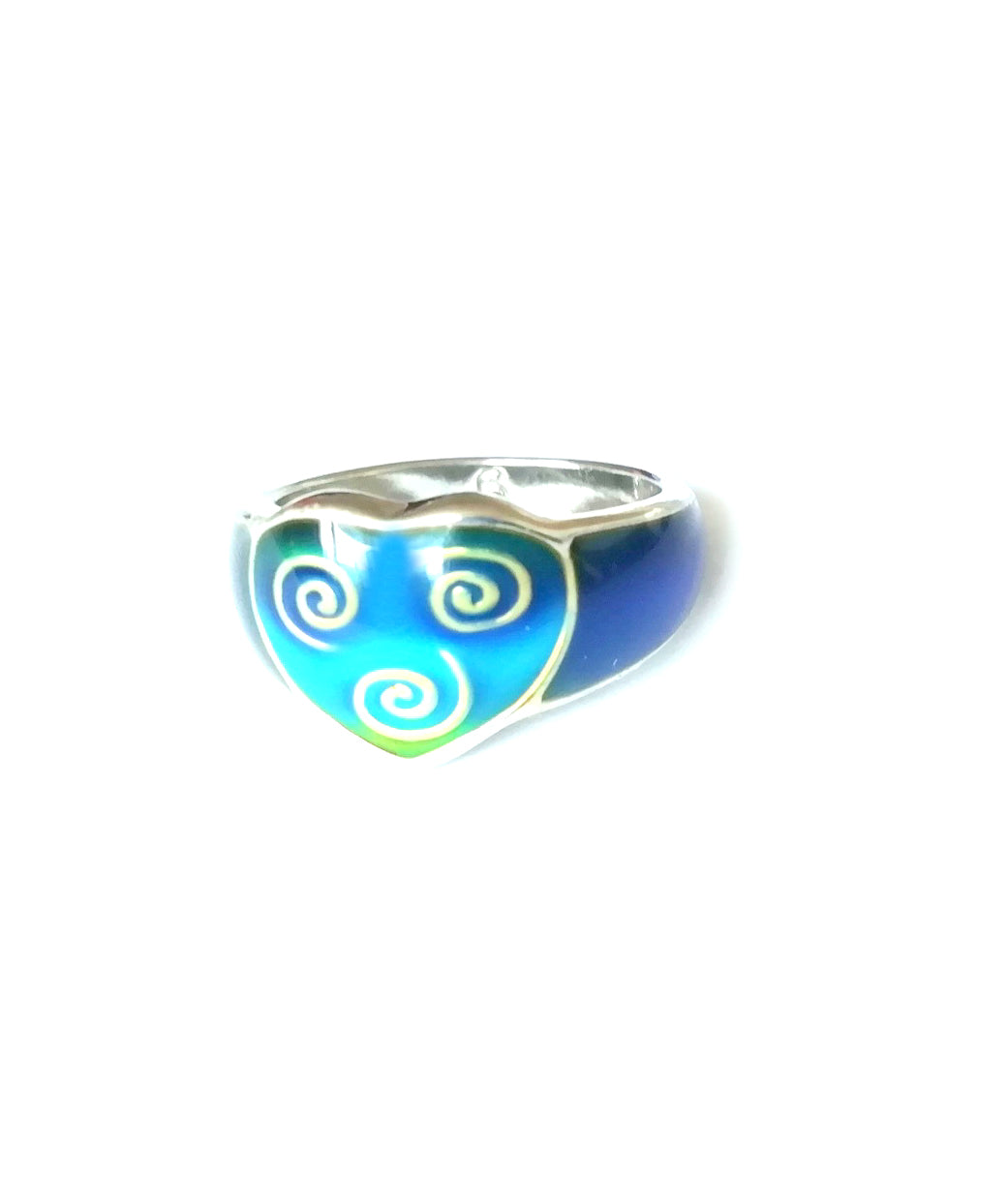 Celtic Heart Mood Ring