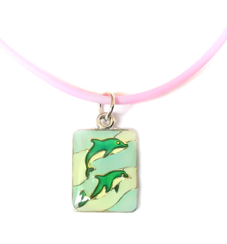 Dolphin Mood Necklace