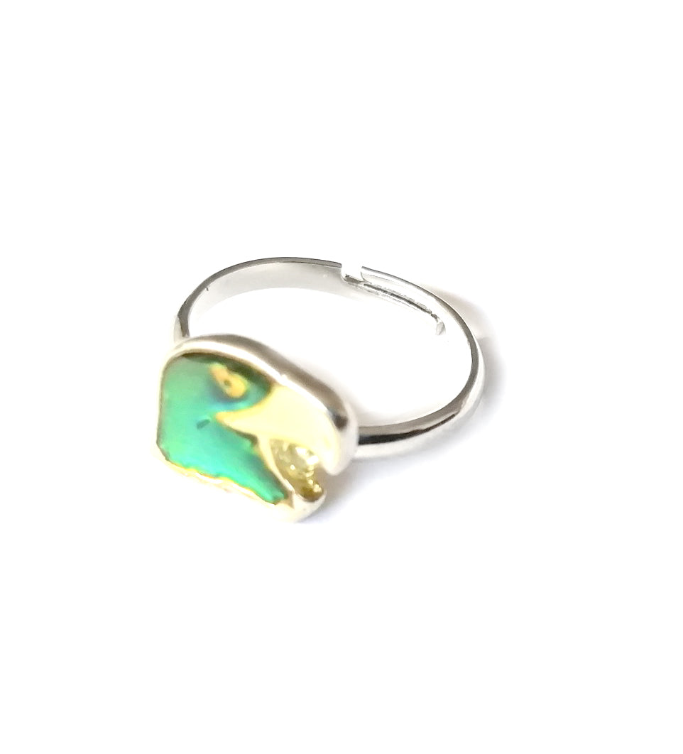 Eagle Mood Ring