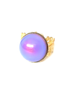 a mood ring turning a purple color mood meaning