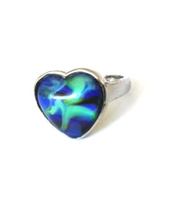Load image into Gallery viewer, Heart Mood Ring