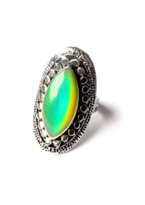 mood ring with horse eye shape