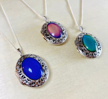 Load image into Gallery viewer, Sterling Silver Locket Necklace