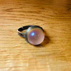 Bronzed Circular Mood Ring
