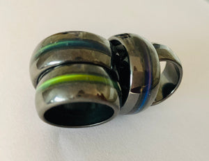 Magnetic Hematite Mood Ring - Seconds SALE