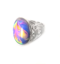 Load image into Gallery viewer, Rainbow Mood Ring