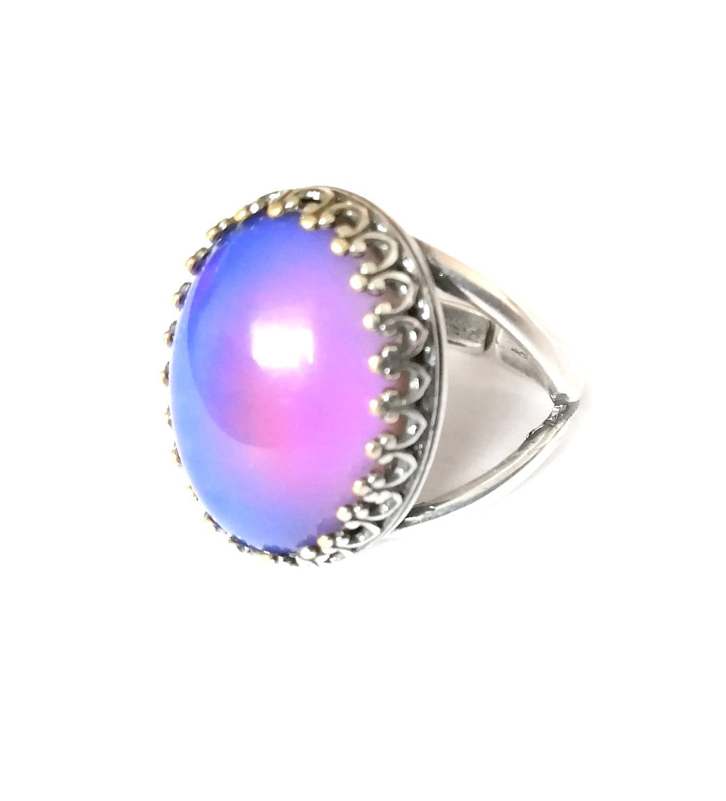 Crown Setting Mood Ring