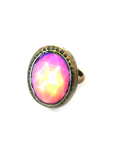 Bronze Oval Mood Ring
