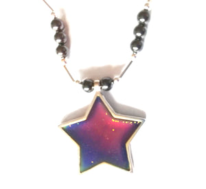 Star Magnetic Mood Necklace