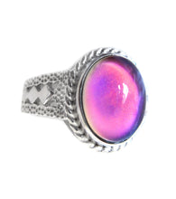 Load image into Gallery viewer, sterling silver mood ring hallmarked by best mood rings