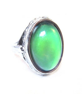 beautiful mood ring in sterling silver by best mood rings