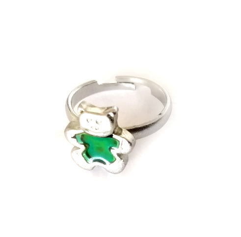 Teddy Bear Mood Ring