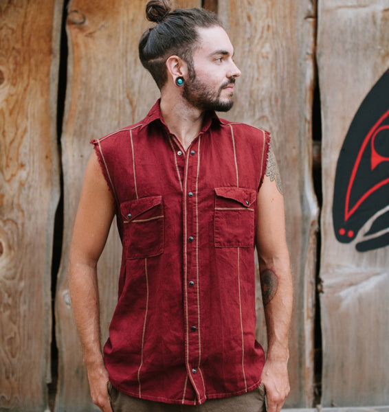 Snapdragon Sleeveless Shirt