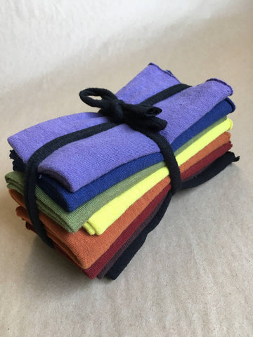 Reusable Handkerchiefs Hand Dyed