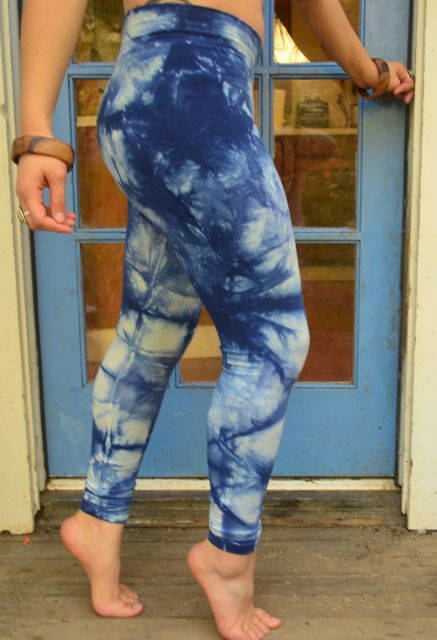 Women's Shibori Dyed Leggings