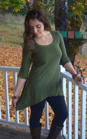 Clover Three Quarter Sleeve Top