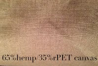 Hemp and rPET Canvas Sold By the Yard