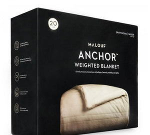 Anchor Weighted Blanket (Driftwood) - National Sleep Store