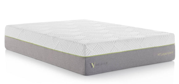 Wellsville 14 Inch Latex Hybrid Luxury Mattress - National Sleep Store