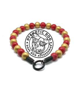 San Francisco 49ers Wooden Bead Collar