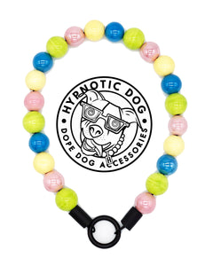 Candy Crush Ceramic Bead Collar