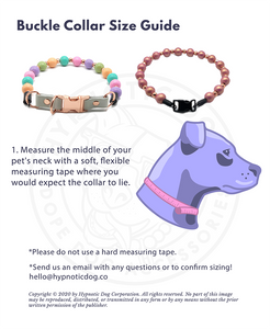 Pink Sunset MINI Wooden [Small Dog/Cat Bead Collar]