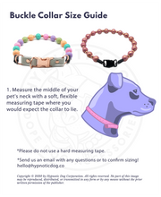 Load image into Gallery viewer, Electric Orchid Metallic MINI Wooden [Small Dog/Cat Bead Collar]