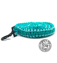 Load image into Gallery viewer, Aquamarine Paracord Leash