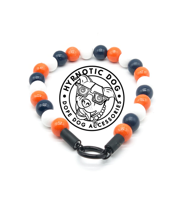 Chicago Bears Wooden Bead Collar