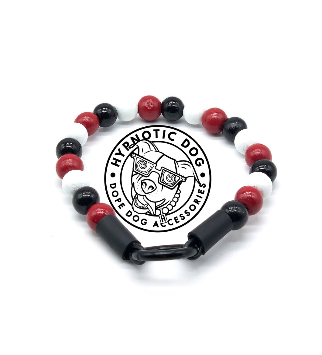 Arizona Cardinals Wooden Bead Collar