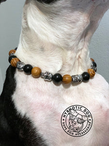 Conqueror Wooden Bead Collar