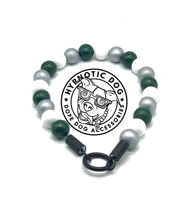 Philadelphia Eagles Wooden Bead Collar