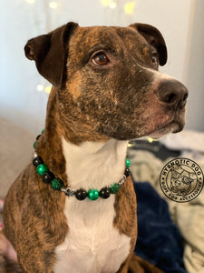 Emerald Envy Bead Collar