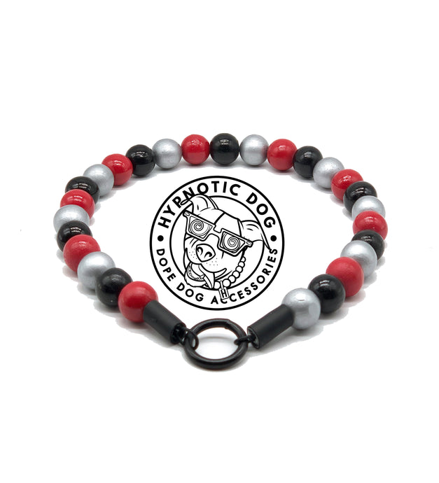Atlanta Falcons Wooden Bead Collar